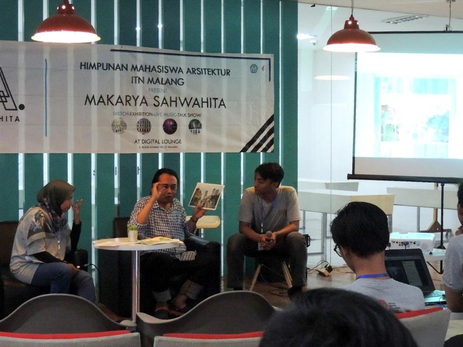 Lestarikan Arsitektur Nusantara, Himpunan Mahasiswa Arsitektur Gelar Talkshow dan Lomba Sketsa