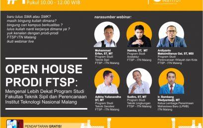 Open House Prodi FTSP ITN Malang