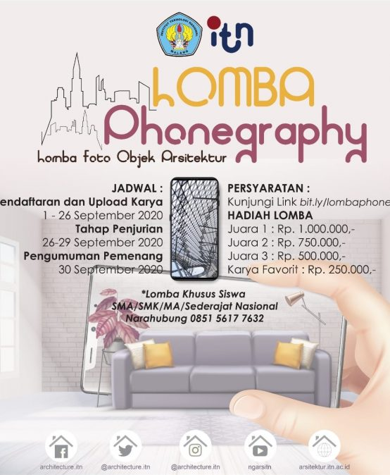 LOMBA PHONEGRAPHY ARSITEKTUR ITN MALANG